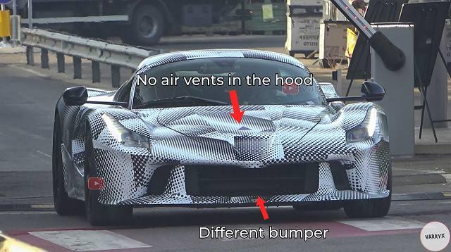 ラフェラーリ次期モデル (2)