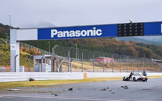 スピードテール事故