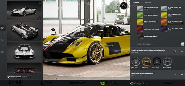 パガーニオンラインカーコンフィギュレーター (2)
