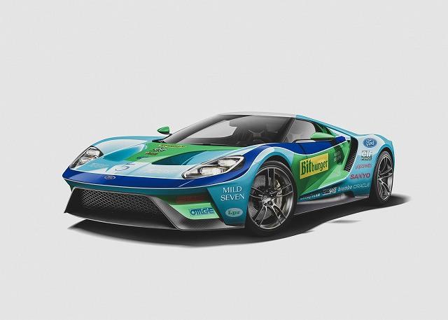F1リバリーのスーパーカー (3)