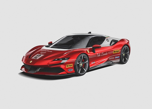 F1リバリーのスーパーカー (5)