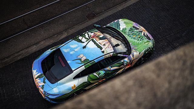 タイカンアートカー (5)