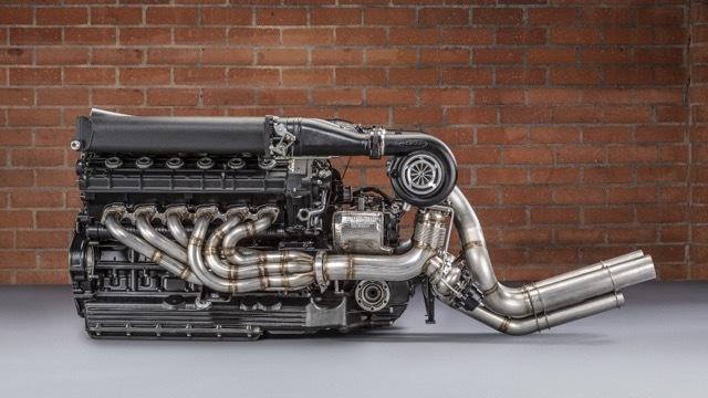 ランボルギーニV12ツインターボエンジン3 2021-4-1