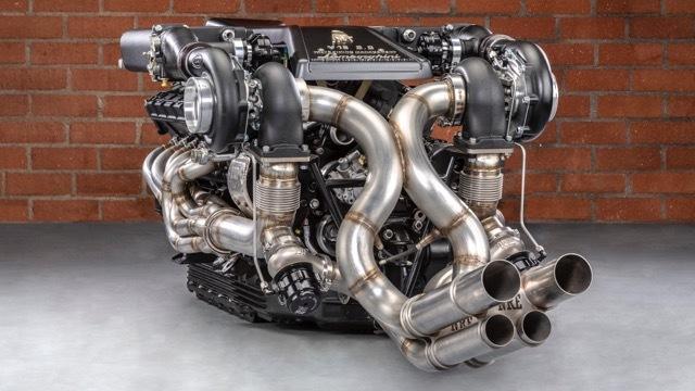 ランボルギーニV12ツインターボエンジン5 2021-4-1