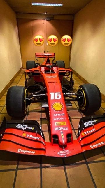 シャルル・ルクレールのフェラーリ5 2021-4-10