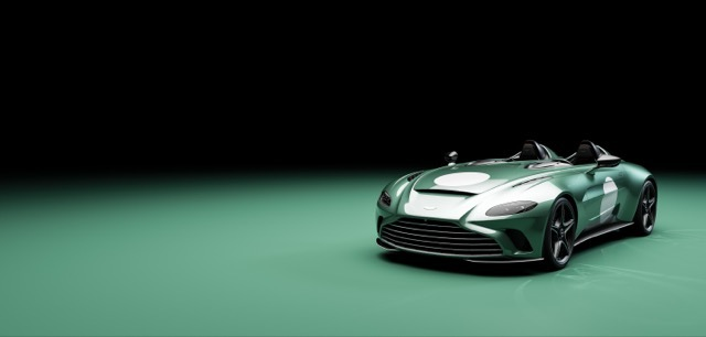 Optional DBR1 specification now available on V12 Speedster03 2021-4-28