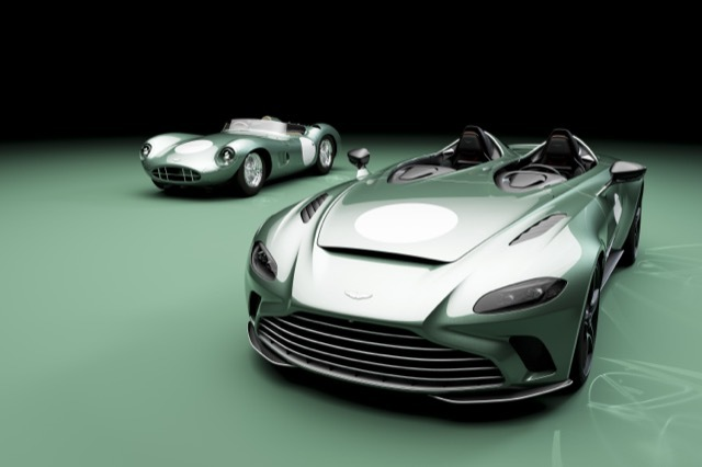 Optional DBR1 specification now available on V12 Speedster06 2021-4-28