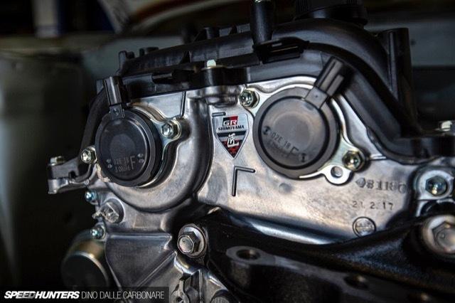 AE86にヤリスのエンジンスワップ1 2021-5-4