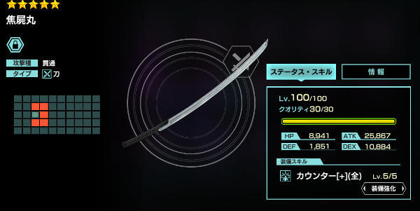★5クオ匠武器30凸