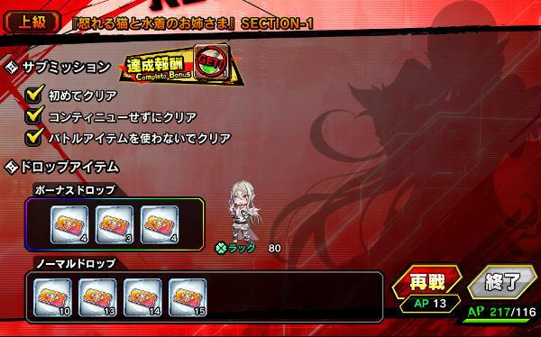 怒れる猫上級S1戦闘06