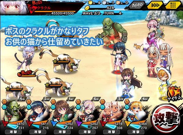 怒れる猫上級S5戦闘02