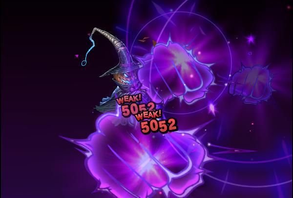 復刻ハロウィンナイト戦闘03
