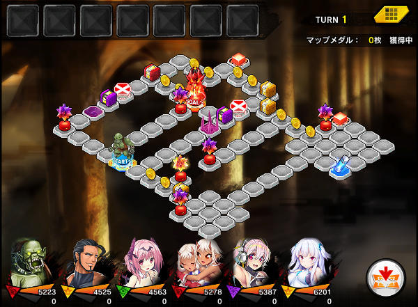 ある日のヨミハラ上級戦闘01