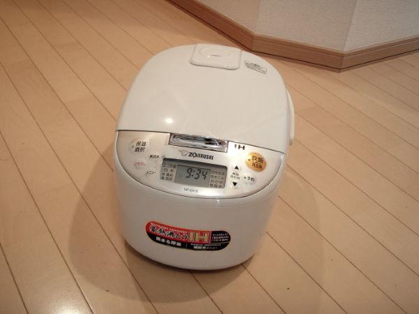 使用した炊飯器