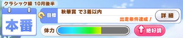 ダイワスカーレットステータス秋華賞01