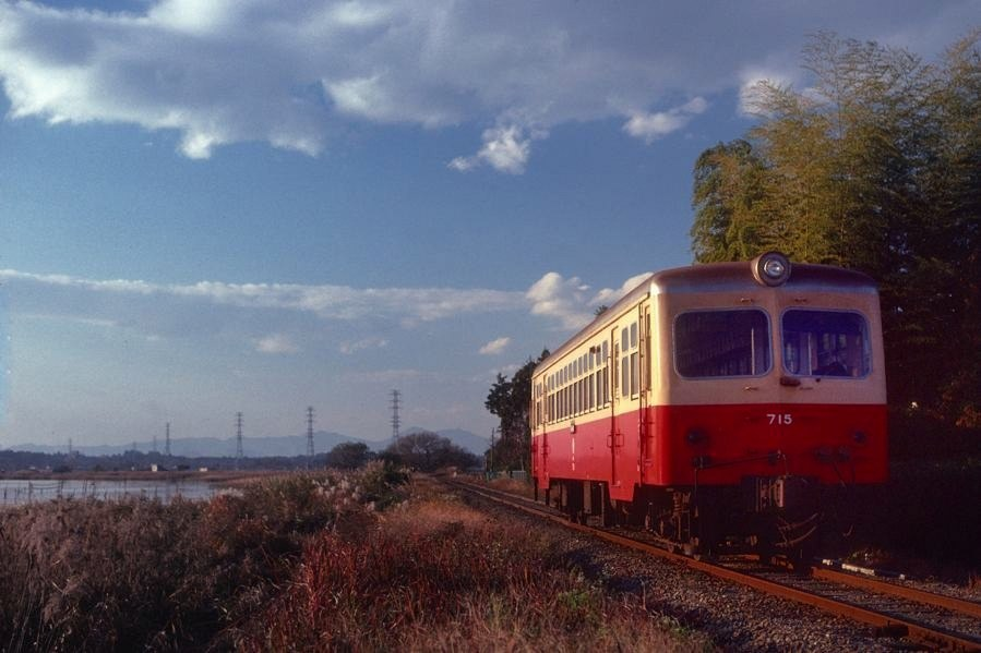 鹿島鉄道 桃浦キハ7151 1981年11月日 16bitAdobeRGB原版 take1b4
