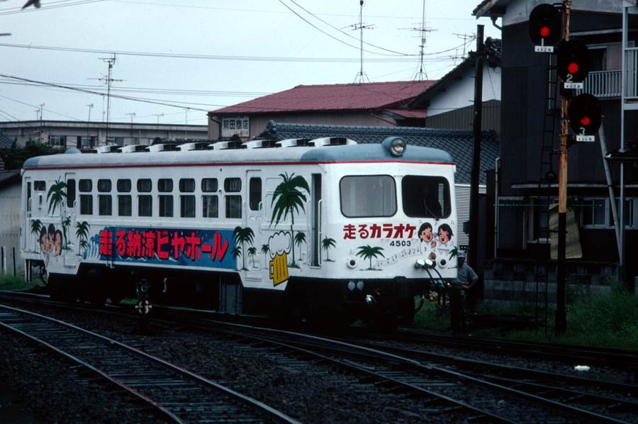 島原鉄道 夏 キハ4500 1980年8月 AdobeRGB 16bit take1b