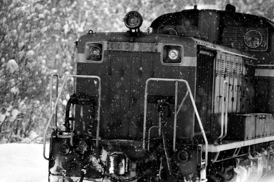 函館本線 小沢 DD517412 1984年2月 16bitAdobeRGB原版 take1b