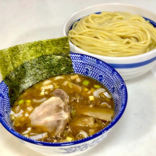 25 自作つけ麺 ゴールデンタイガー麺 (16)