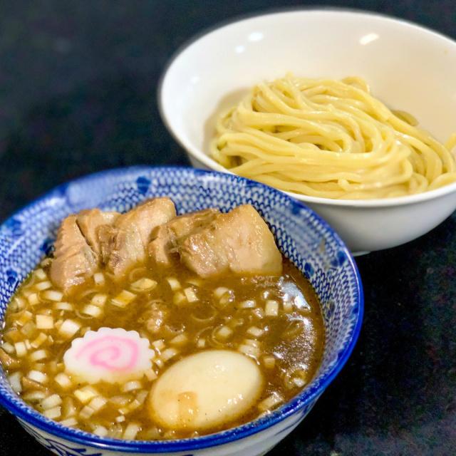 30 自作つけ麺GTの麺に渋谷くんとこのチャーシュー (10)