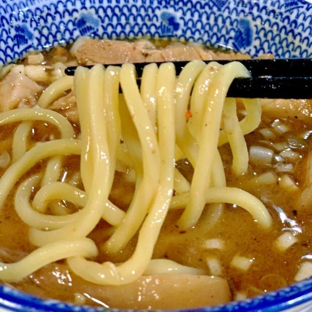 30 自作つけ麺GTの麺に渋谷くんとこのチャーシュー (11)