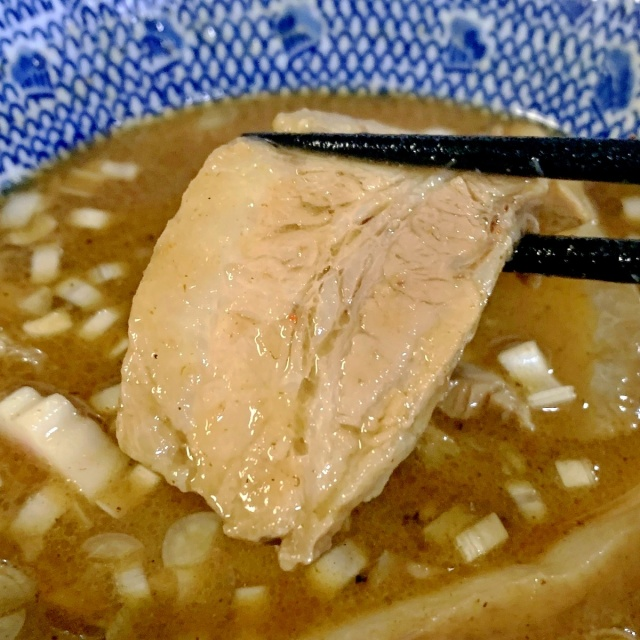 30 自作つけ麺GTの麺に渋谷くんとこのチャーシュー (12)