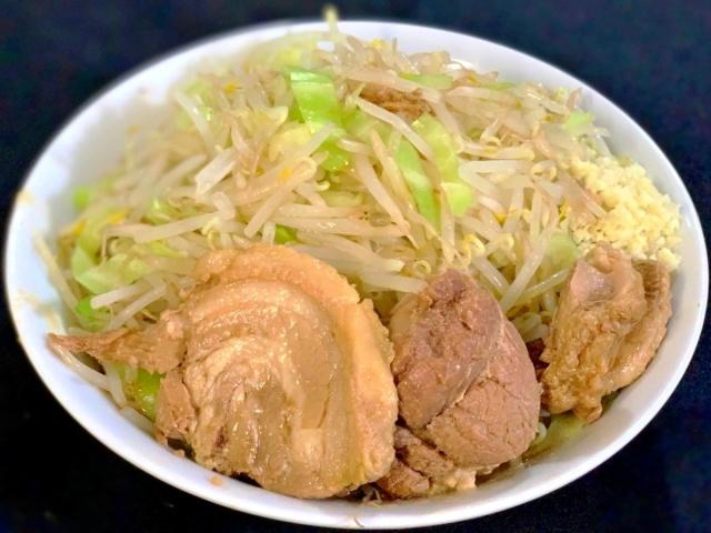 ラーメン二郎 川越店 汁なし (3)