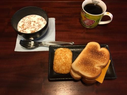アメリカ朝食1