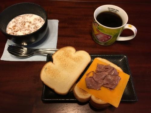 アメリカ朝食2