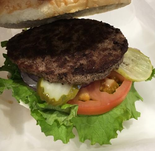 アメリカ空港ハンバーガー2