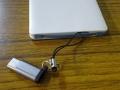 ストラップ付きMicro USB to Type-Cアダプタ導入(4)