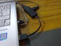 エレコム製USB3.0ハブ「U3H-K315B」導入(3)