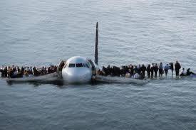 ハドソン川に不時着水した1549便
