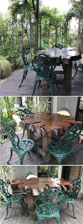 20200506薔薇のお家のテーブル