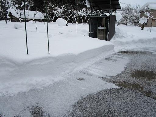 積雪約70㎝