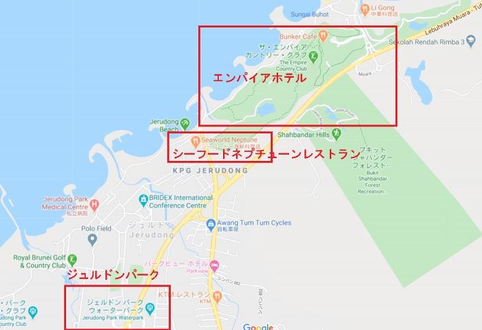 エンパイア周辺地図