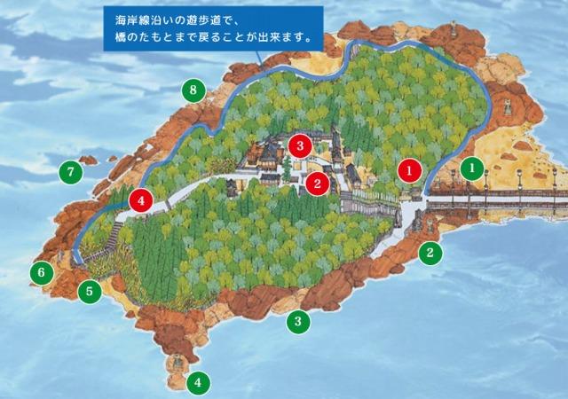 竹島マップ