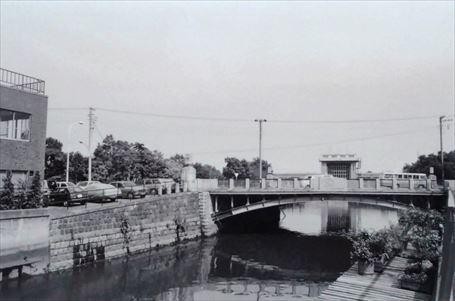 山谷堀 暗渠前(1975年)