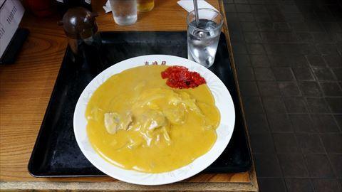 東嶋屋の黄色いカレー
