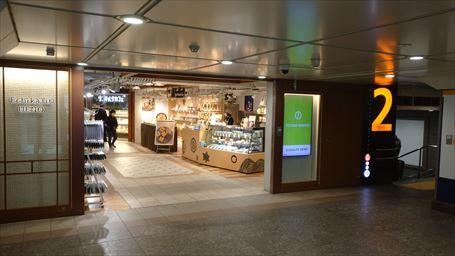 銀座線上野駅のエキナカ