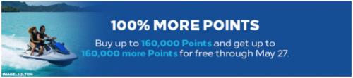 ヒルトンオナーズポイント購入で100%ボーナス_倍の年間購入ポイント