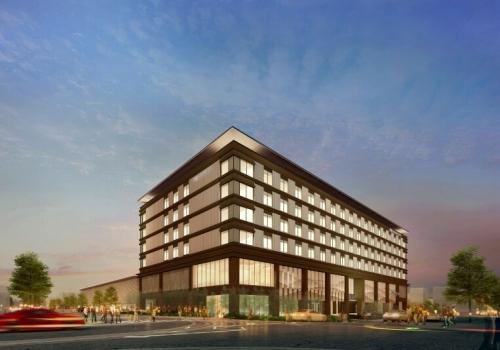 JWマリオット・ホテル奈良が昨日開業 JWマリオットは日本で初めて