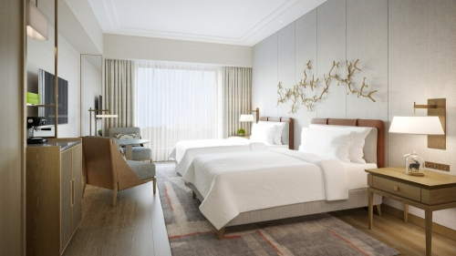 JWマリオット・ホテル奈良が昨日開業 JWマリオットは日本で初めて1
