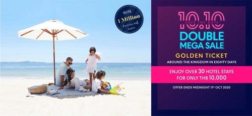 タイで30軒のホテルに滞在できるプランが約35000円で販売2