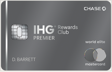 アメリカで発行されているIHGリワードクラブの提携クレジットカード1