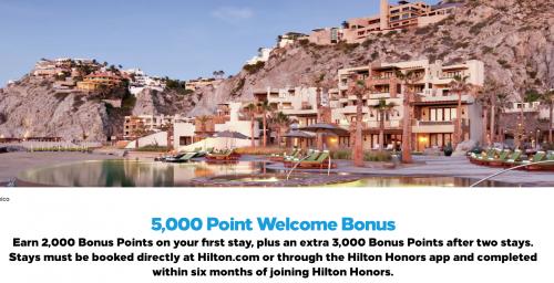 ヒルトンオナーズ 2021年度新規会員に最大5000ウェルカムボーナスポイントキャンペーン