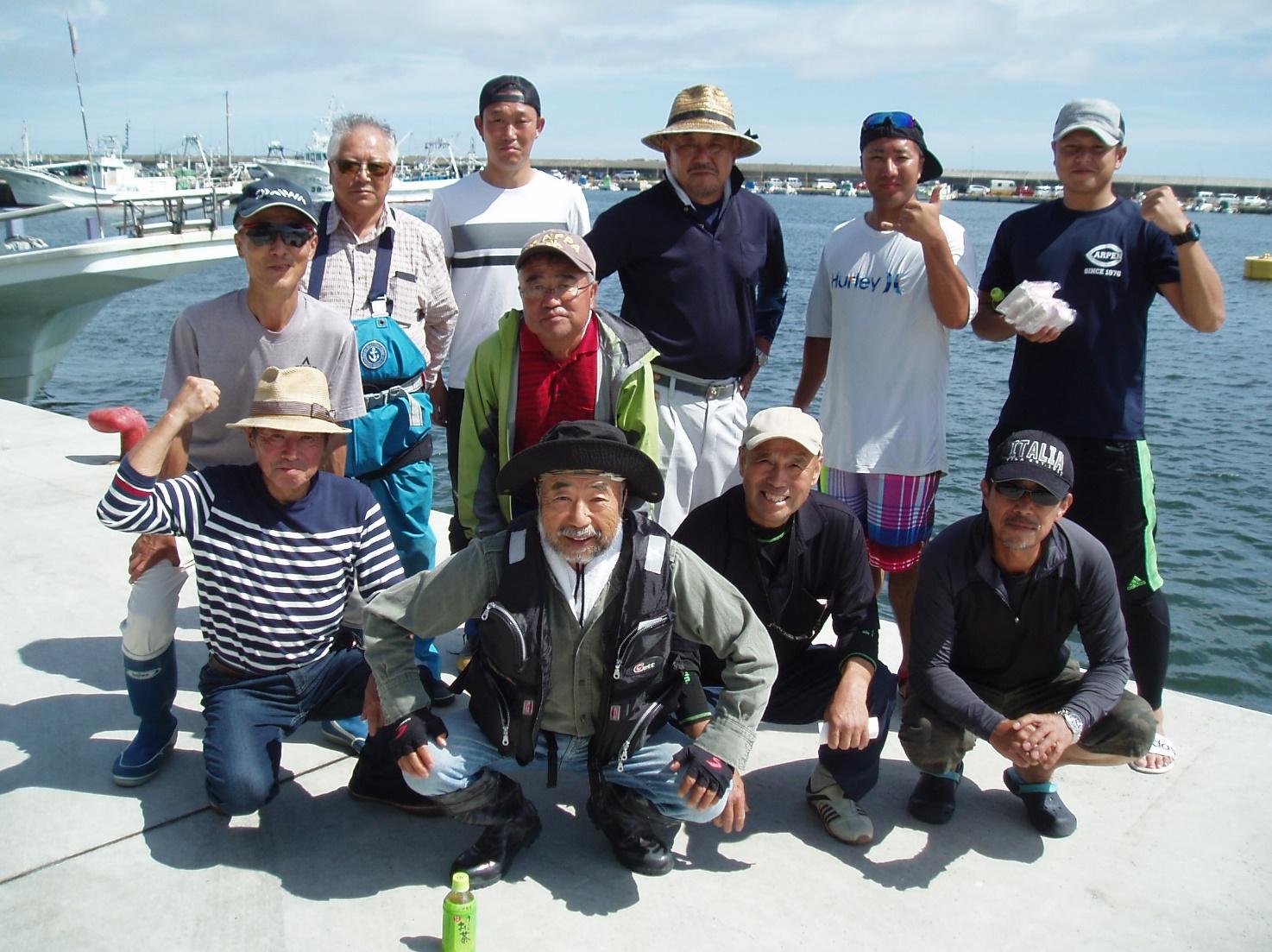 H30真鯛釣り大会写真