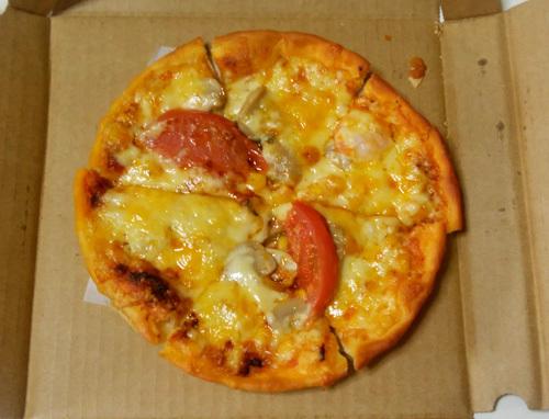 18日ZACのピザ