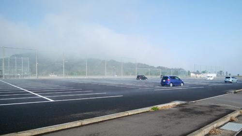 17日霧がスゴイ1