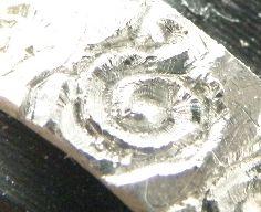 ト音記号彫金3